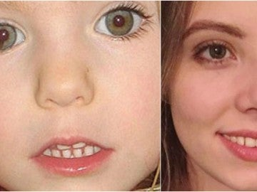 Madeleine McCann y Harriet Brokes