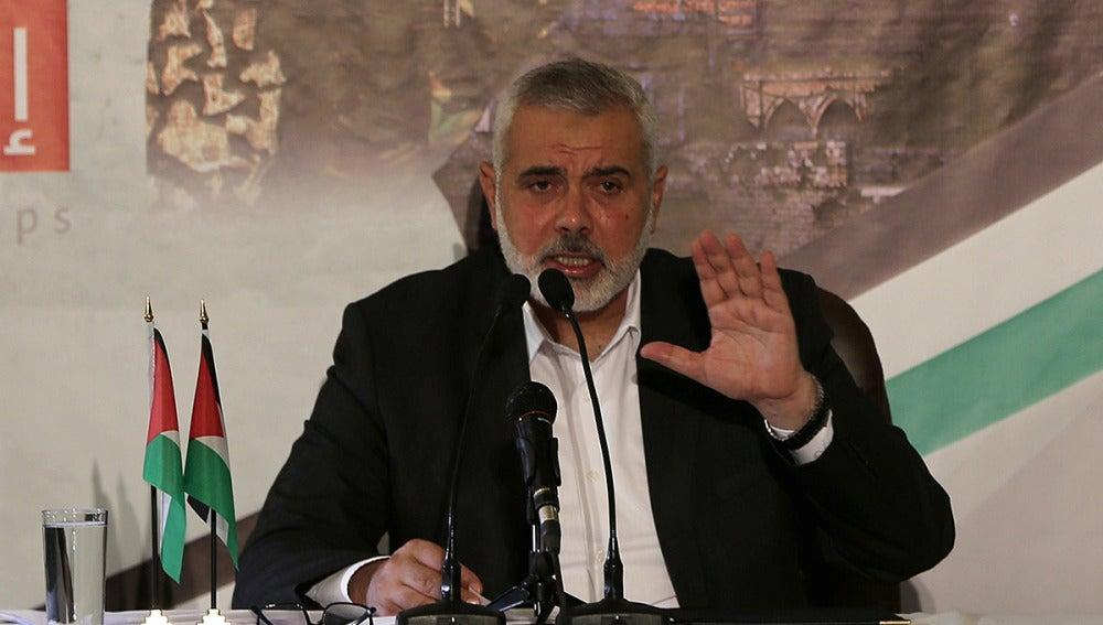 Haniyé, líder de Hamás