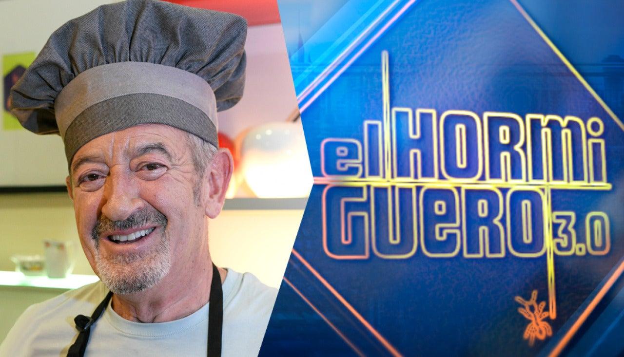 Karlos Arguiñano presentará su nuevo libro de recetas el jueves en 'El Hormiguero 3.0'