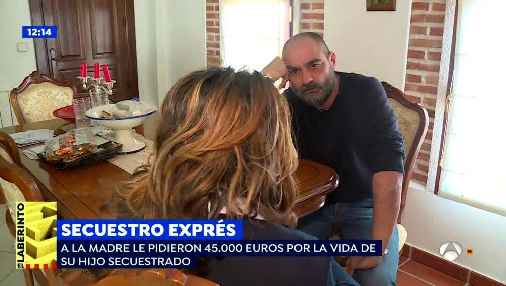 'Espejo Público' entrevista a la madre de un joven secuestrado en Santa Olalla