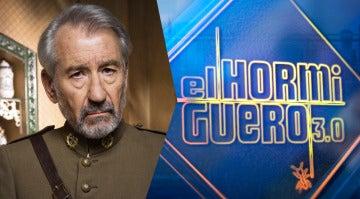 José Sacristán visitará el miércoles 'El Hormiguero 3.0.' para hablar sobre su personaje en 'Tiempos de guerra'
