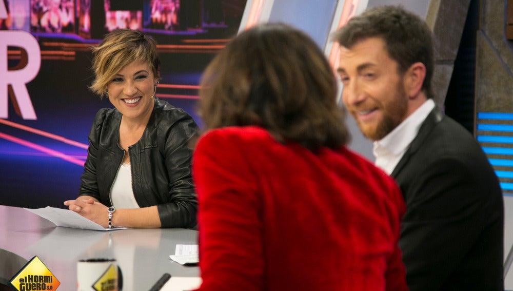 'Sorpresa, sorpresa' se cuela en la sección de Cristina Pardo