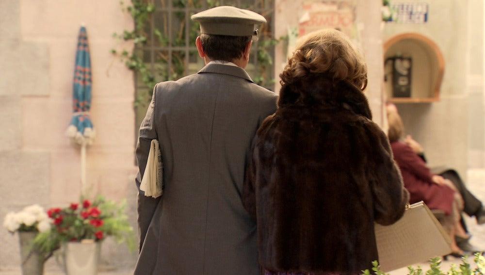 Ginés pone rumbo a una nueva vida con Ana María