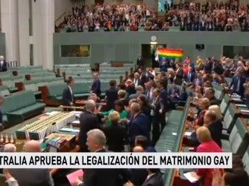 El Parlamento australiano aprueba el proyecto de ley sobre las bodas homosexuales