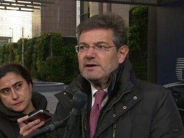 Catalá pide a los socios de la UE ampliar la lista de delitos en la euroorden que permiten entrega automática