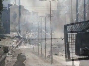 Fuertes enfrentamientos entre manifestantes y soldados israelíes en Belén
