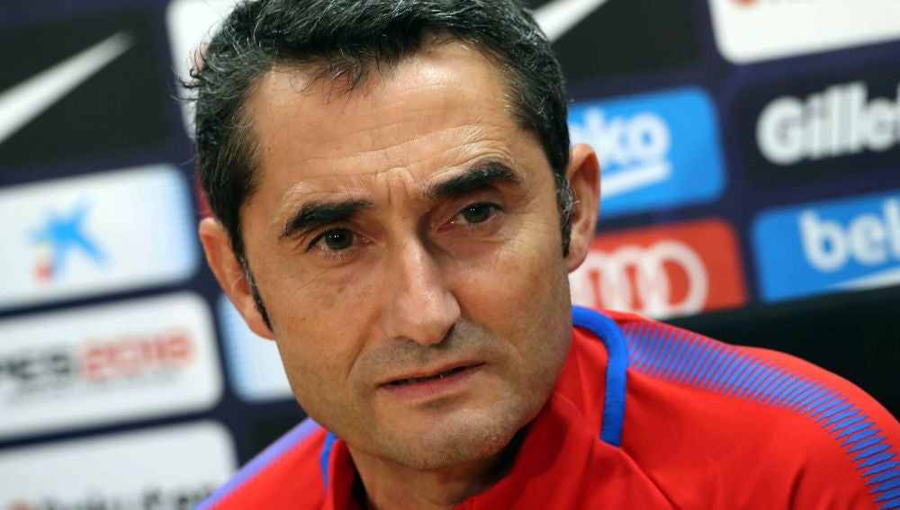 Valverde habla antes del partido con el Villarel