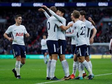 El Tottenham golea al Stoke City