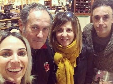 Nerea Garmendia, Santi Ugalde, Maribel Salas y Asier Hormaza