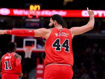Nikola Mirotic, en el paritdo con los Chicago Bulls