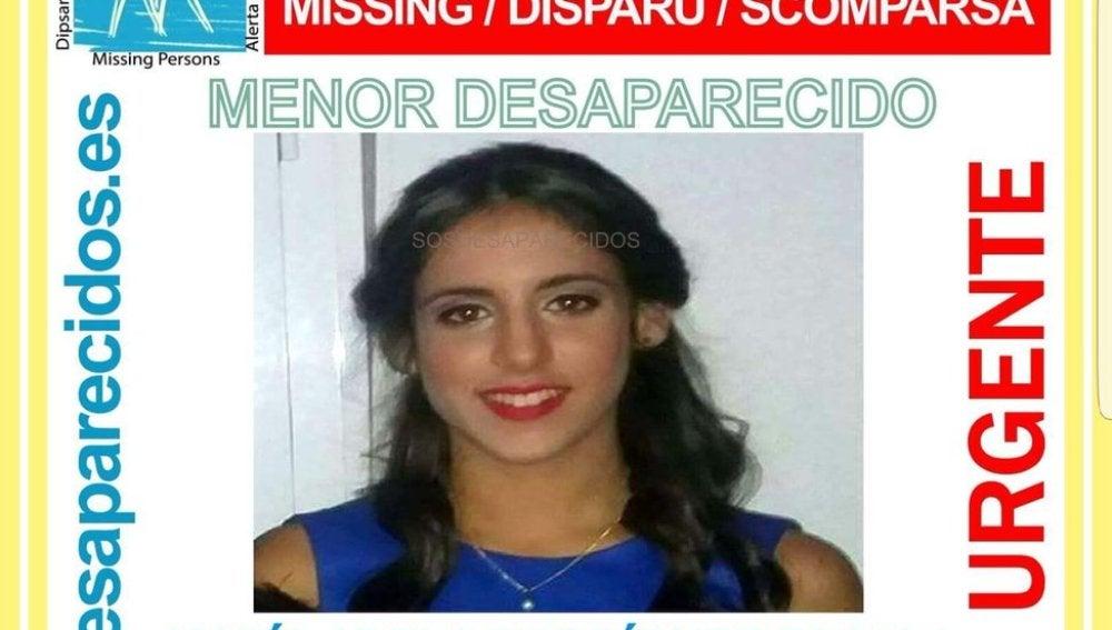 María Adela Rodríguez Escala, menor desaparecida en Niebla (Huelva)