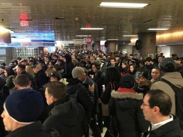 Varias estaciones de Metro de Nueva York han sido desalojadas