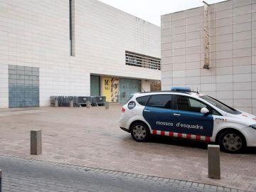 Un coche de los Mossos d'Esquadra en Lleida
