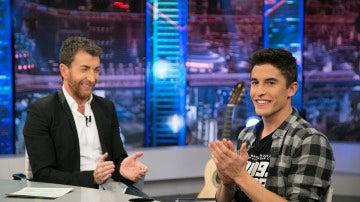 Marc Márquez y su 'salvada' en Cheste