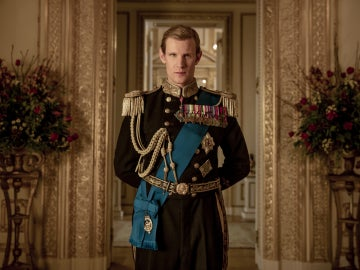 Matt Smith como el Duque de Edimburgo en 'The Crown'