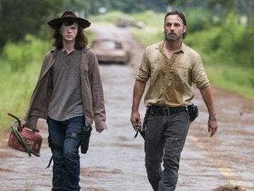 Imagen del último capítulo emitido de 'The Walking Dead'