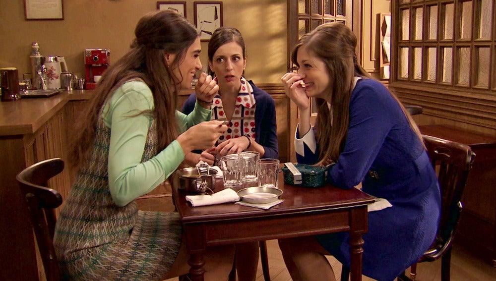 Susana confiesa ante sus amigas la noche de pasión con Javier