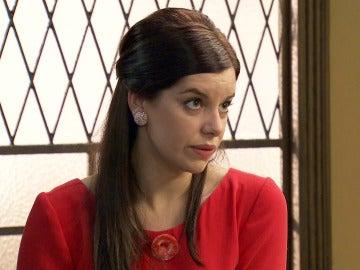 """Marta, muy nerviosa tras la visita del policía que busca a Ginés: """"Les estoy encubriendo"""""""