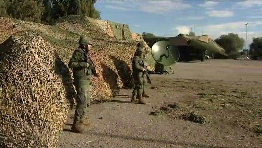 Casi 750 militares realizan simulacros de acción en Reus