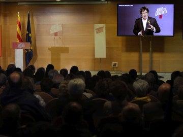 El expresidente Carles Puigdemont