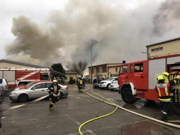 Explosión en una estación de gas en Austria