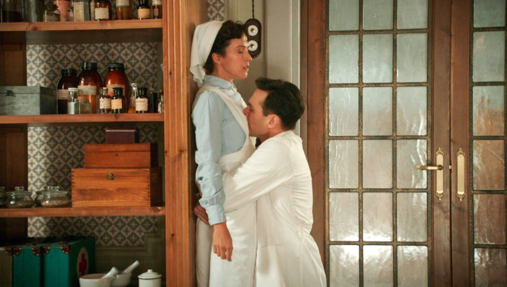 Luis, pura fogosidad con Pilar