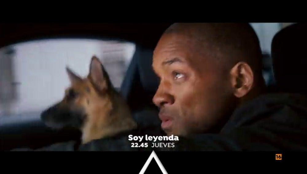 Will Smith protagoniza 'Soy Leyenda' en Antena 3