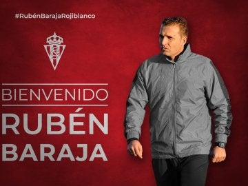 Rubén Baraja, nuevo entrenador del Sporting