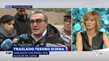 Àngel Ros, alcalde de Lleida