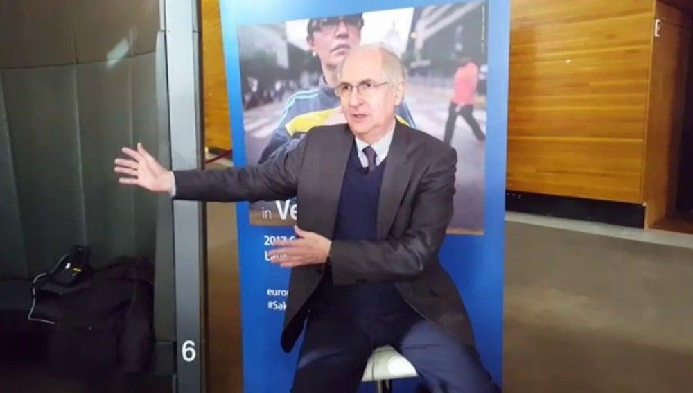 """Antonio Ledezma: """"Creo que el pueblo de Venezuela ni se cansa ni se rinde""""."""