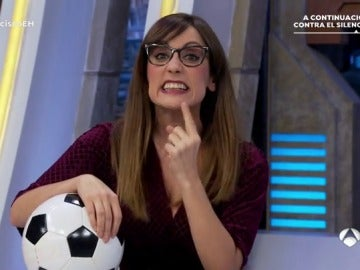 Ana Morgade en 'El Hormiguero 3.0'.