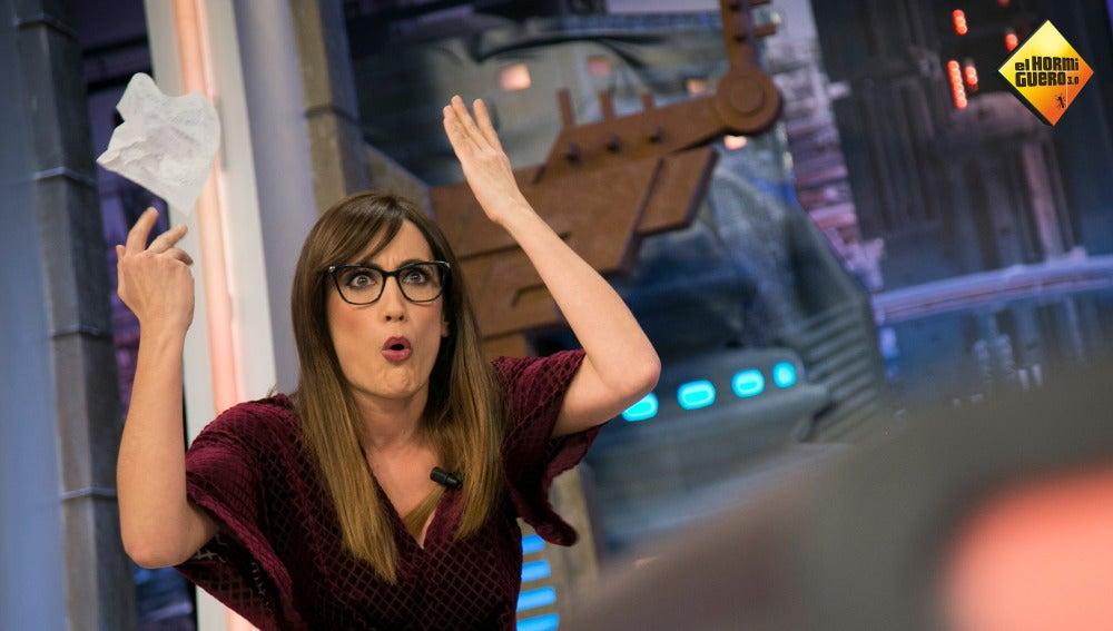 Ana Morgade recrea uno de los grandes enfados de Tomás Roncero