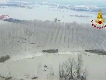 Miles de evacuados en el norte de Italia por las inundaciones