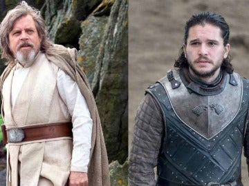 Luke Skywalker y Jon Snow
