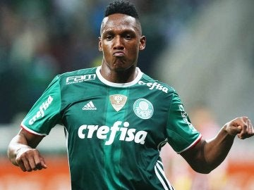 El defensa Yerry Mina.