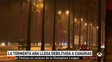 La tormenta Ana mantiene a Canarias en aviso amarillo