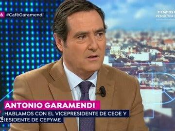Garamendi, en Espejo Público