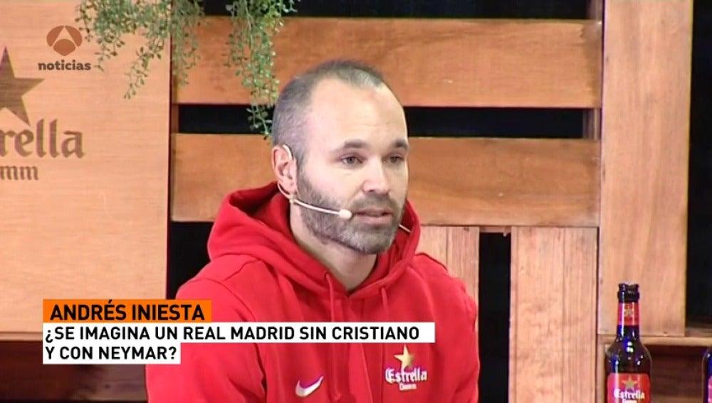 ¿Se imagina Iniesta a Neymar en el Real Madrid?