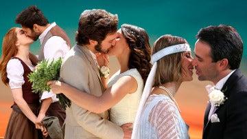 Los besos románticos que más han emocionado en 'El secreto de Puente Viejo'