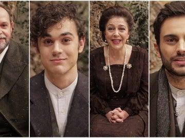 El mensaje de navidad de los actores de 'El secreto de Puente Viejo' a todos los seguidores