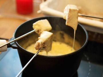 ¿Una fondue o raclette?