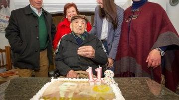 El extremeño Francisco Núñez Olivera, el hombre más longevo del mundo