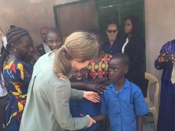 La Reina Letizia, en Senegal