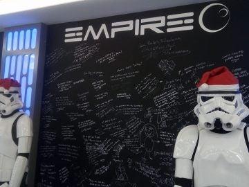 Empire, un homenaje a Star Wars.