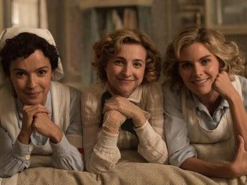 Verónica Sánchez, Anna Moliner y Amaia Salamanca