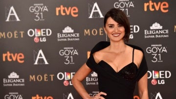 Penélope Cruz en los Goya 2017