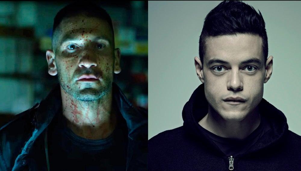 'The Punisher' y 'Mr Robot'