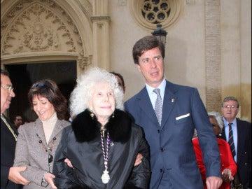 Cayetano Martínez de Irujo y la Duquesa de Alba