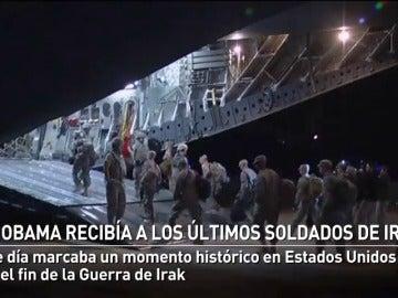Obama marcaba el fin de la Guerra de Irak con el regreso de los últimos soldados estadounidenses