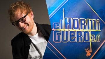 La estrella internacional Ed Sheeran estará el lunes 'El Hormiguero 3.0'
